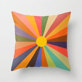 Sun - Soleil Throw Pillow