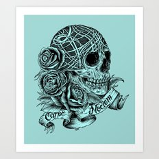 Carpe Noctem (Seize the Night) Art Print