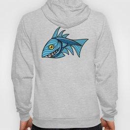Escher Fish pattern III Hoody