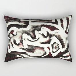 Member of the Tribe - ivory Rectangular Pillow