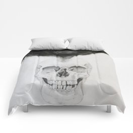 SKULL | The Persistence of Memory Comforters
