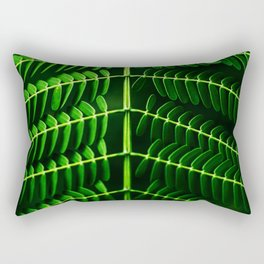 Leafed Branches Rectangular Pillow