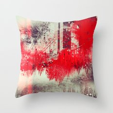A Season Of Rough Waters Throw Pillow