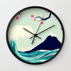 Falling in love 2 Wall Clock
