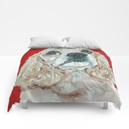 Lola the Cocker Spaniel Comforters