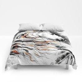 Dark Beauty Horse Comforters