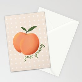 Just Peachy Stationery Cards