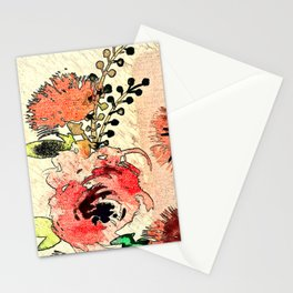 Rustic Roses Stationery Cards