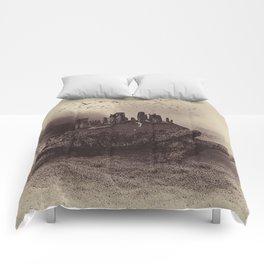 Druid Golf Sepia Comforters
