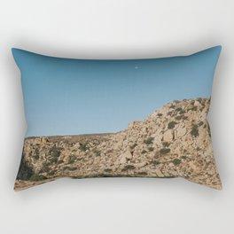 Moon over Mountains Rectangular Pillow