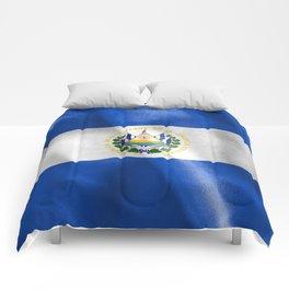 El Salvador Flag Comforters