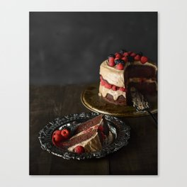 The Cake Canvas Print