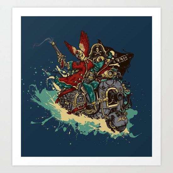 Sea Traveler Art Print