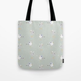 Westcoast Seagulls Sailor Nautical Fun Tote Bag