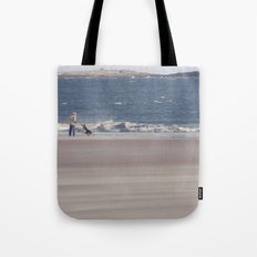 fishing with dogs... Tote Bag