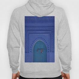 Islamic Architecture Blue Turquoise Secret Doorway Beautiful Engravings Hoody