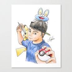 PokeArtist Canvas Print