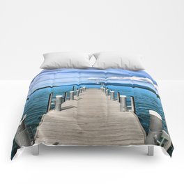 Stepping to the Sea Comforters