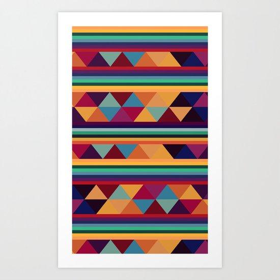 Pattern Y II Art Print