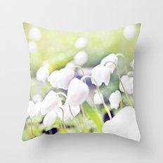 Spring miracles Throw Pillow