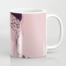 Faceless mocha, interpretive emotions Coffee Mug