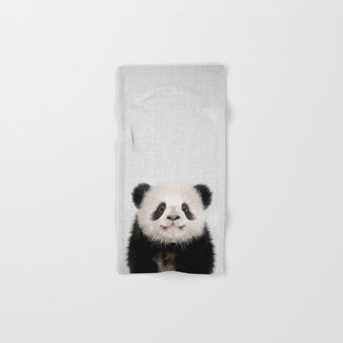 Panda Bear - Colorful Hand & Bath Towel