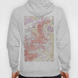 Vintage Map of El Cajon California (1967) Hoody