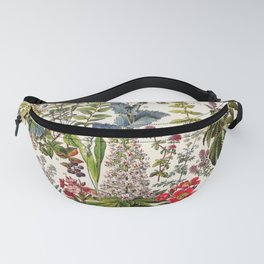 Adolphe Millot - Plantes Medicinales A - French vintage poster Fanny Pack