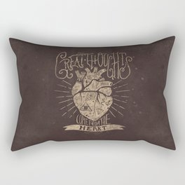 Great Thoughts Rectangular Pillow