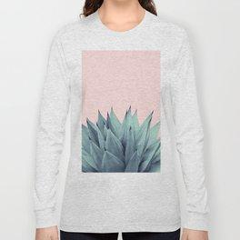 Agave Vibes #12 #tropical #decor #art #society6 Long Sleeve T-shirt