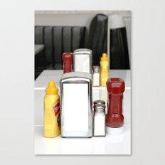 Diner Flare Canvas Print