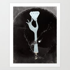 The One-armed Bandit Art Print