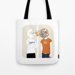 EMPTY-FULL Tote Bag