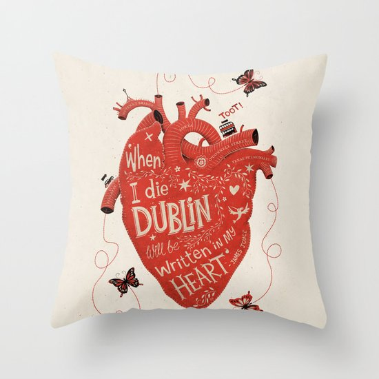 When I Die... Throw Pillow