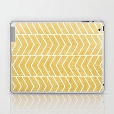 Yellow Chevron Laptop & iPad Skin
