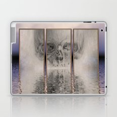 fractal skull Laptop & iPad Skin