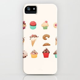Desserts iPhone Case