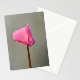 Lonely Cyclamen Stationery Cards