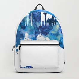 Hanover Germany Skyline Blue Backpack