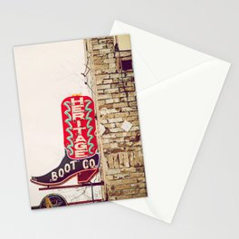 Downtown Austin Texas Neon Stationery Cards