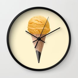 ICE CREAM PENCIL Wall Clock