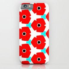 Herweije Retro Flower Pattern iPhone 6s Slim Case