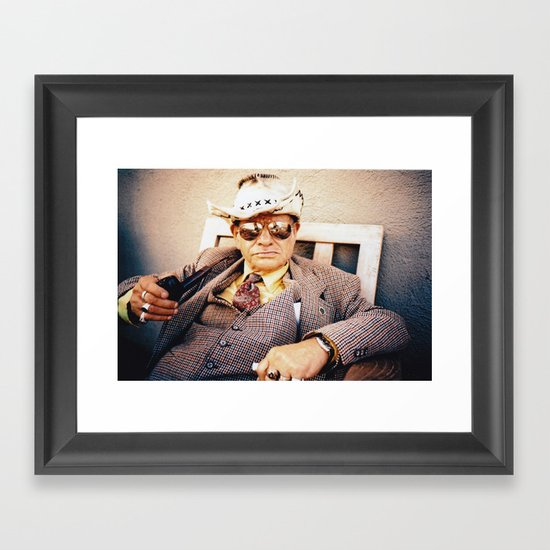 jimmy Framed Art Print