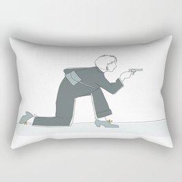 Rebel girl Rectangular Pillow
