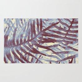 Scanned Ferns Rug