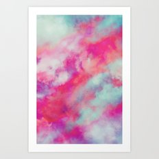 Rained Art Print