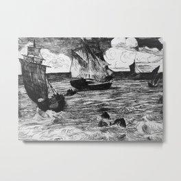 Marine Metal Print