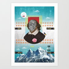 Shakespeare In Disguise Art Print