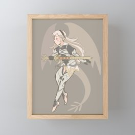 Fem!Corrin Framed Mini Art Print