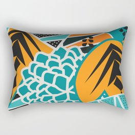 Leaf tropicana Rectangular Pillow